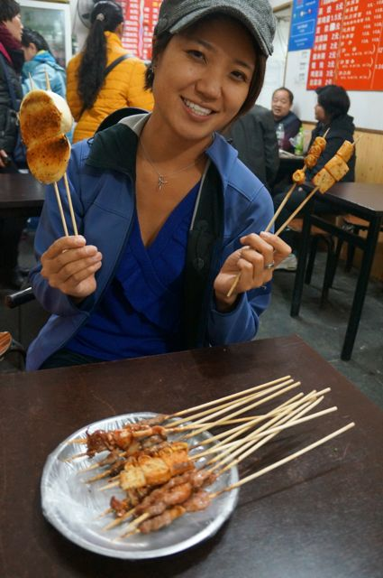 Beijing street food, you don't scare me!